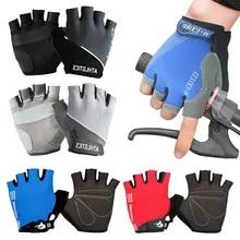 Cycling-Gloves Bicycle Mtb-Road Mountain-Bike Half-Finger Anti-Slip Gel Men for Shock-Proof