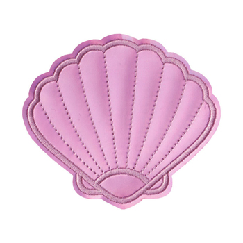 Parches de calamar y sirena con parches bordados para ropa DIY rayas marinas adhesivos para ropa apliques 1 Uds