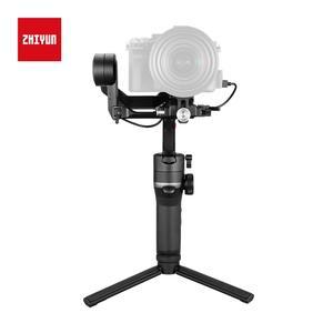 Image 4 - Zhiyun weebell S المحمولة 3 Axis يده مثبت أفقي شاشة OLED لكانون EOS R A7III A7M3 Z6 Z7 S1 المرآة