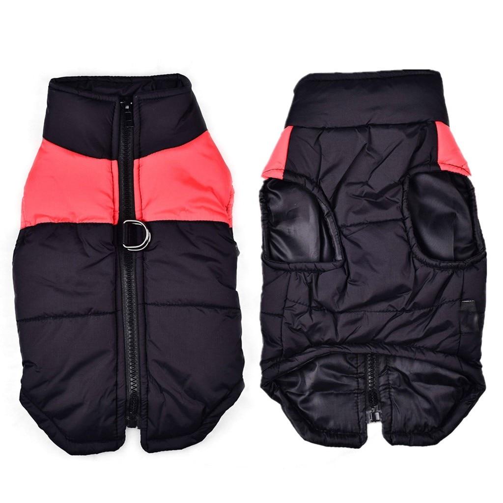 Осень-зима, модная удобная одежда для домашних животных, классический цвет, подходящий пуховый жилет, модная удобная Удобная практичная одежда для отдыха