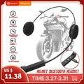 Мотоцикл беспроводной bluetooth шлем гарнитура шлем динамик внутренней связи с микрофоном свободные стерео наушники
