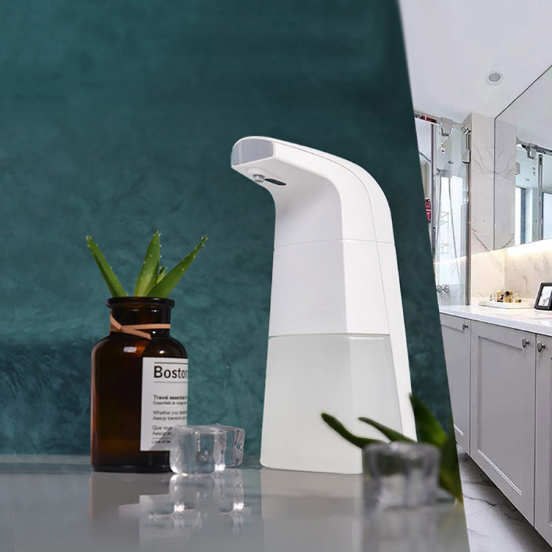 Hb7438c2ae5504db58ce2047a4a3a6a2cB Automatic Waterproof Foam Liquid automatic soap dispenser wall Infrared Sensor Touchless Hand Washer soap dispenser Dropshipping