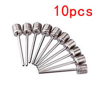10Pcs 4cm Sports Ball Inflating Pump Needle For Football Basketball Soccer Inflatable Air Valve Adaptor Stainless Steel Pump Pin