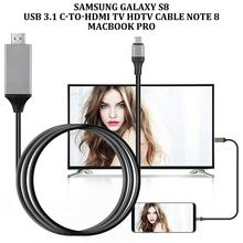 Type-C USB-C naar HDMI HDTV 4K Kabel Voor Samsung voor Galaxy Note 8 9 S10 + Plus(China)