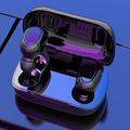 Беспроводные Bluetooth 5,0 наушники L21 стерео спортивные наушники-вкладыши с шумоподавлением TWS наушники-вкладыши с зарядным чехлом для iphone