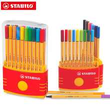 10/20Pcs Stabilo Point 88 Fineliner 0.4มม.สีMarkerปากกาเจลหมึกRollerballปากกาเยอรมนี