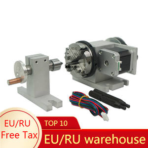 Live-Center Tailstock-Chuck Lathe-Machine Axis Cnc Rotary Mini 65mm 4 for Activity