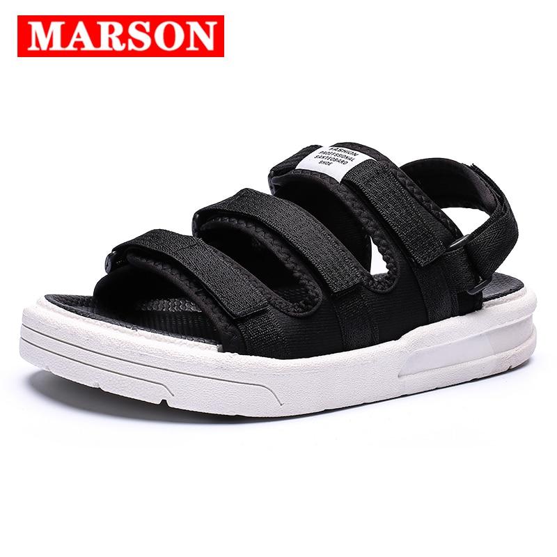 New Men Sandals Summer Beach Sandalias Romanas Hombre Fashion Breathable Slip On Rome Style Waterproof Casual Beach Shoes Unisex