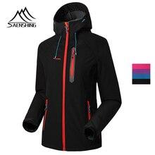SAENSHING женские горные куртки пальто Mtb Велоспорт флисовая куртка флисовая подкладка теплая флисовая уличная спортивная одежда дождевые куртки