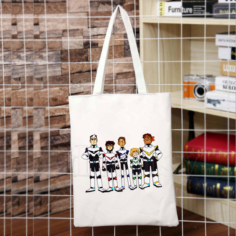 Voltron DEFENDER OF THE UNIVERSE Tote Bag Many Sizes