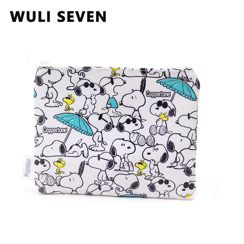 WULI SEVEN 2020 New Arrival Cute Coin Purse Portable Coin Bag High Quality Travel Cosmetic Organizer Pouch Cartoon Storage Bags