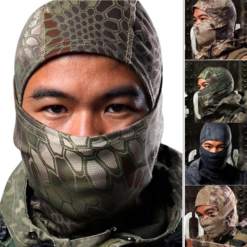 Men Boy Outdoor Airsoft Ski Quick-drying Hood Balaclava Hide Full Face Mask B40