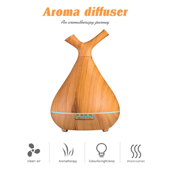 400ML Creative Appearance USB LED Ultrasonic Aroma Humidifier Essential Oil Diffuser ABS PP Exquisite therapy Purifier New