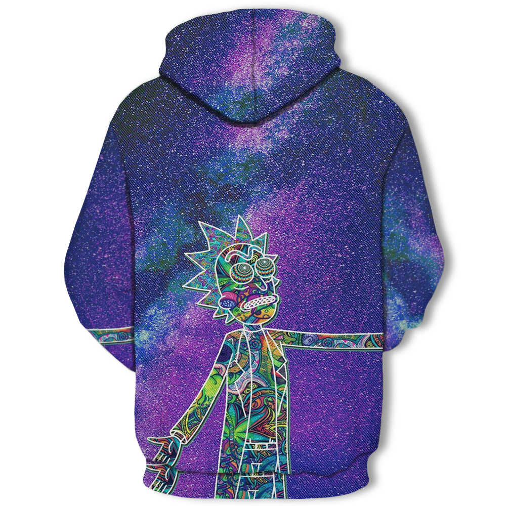 Hoodies anime rick and morty hoodies by art 3d 유니섹스 운동복 남성 브랜드 까마귀 캐주얼 트랙 수트 풀오버 anime hoodie