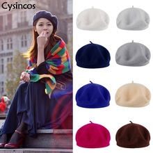 Winter Berets Hat Bonnet Cap SF