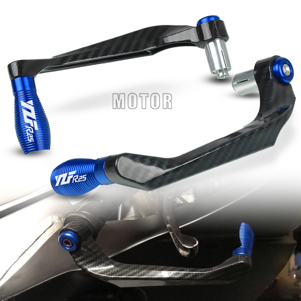 "For Yamaha YZF R25 2015-2017 2016 YZFR25 YZF-R25 Motorcycle 7/8"" 22mm Handlebar Brake Clutch Levers Guard Protection Proguard"