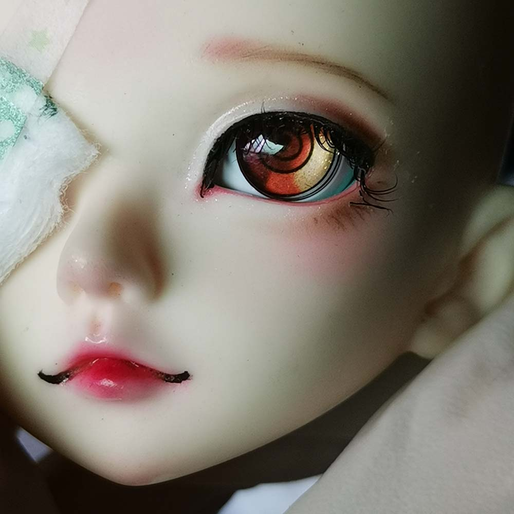 Cartoon Eyes  Doll Eyes 8-22mm Bjd Eyes For 1/8 1/6 1/4 1/3 14mm  Dollfie Dream Doll Mdd Eyes Accessories  For Toy Doll