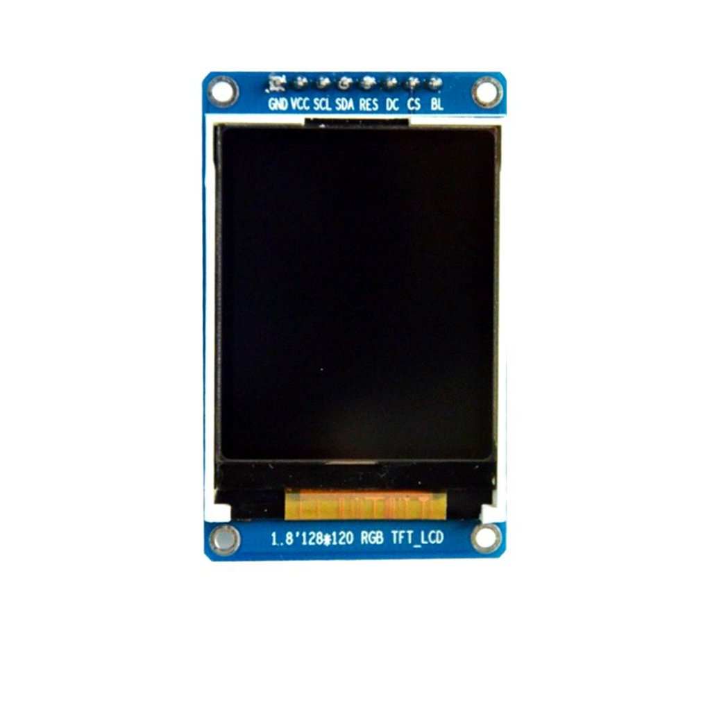 "1.8"" inch SPI HD Full Color TFT LCD OLED Display Screen Module 128X160 for Arduino Driver IC ST7735S"