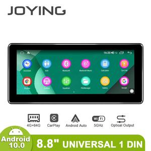 Joying 8.8inch Single Din Universal Android Car Radio Android10 GPS Navi Carplay Android-auto DSP SPDIF Optical Output 5G WiFi