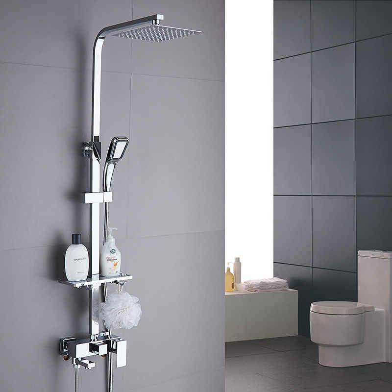 Rain Shower System Bathroom Set
