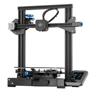 Image 3 - Ender 3 V2 zestaw do drukarki 3D zaktualizowany samodzielnie opracowany cichy płyta główna Creality 3D inteligentny czujnik żarnika wznowić drukowanie.