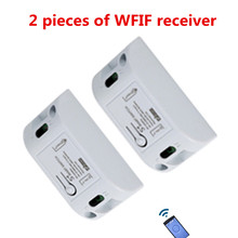 433MHZ10A110V 220V wireless Wifi switch and RF 1527 learning