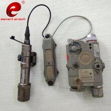 Element Airsoft PEQ 15 Тактический светильник-вспышка переключатель давления PEQ15 двойной переключатель управления PEQ 15 DBAL оружие пистолет светильник переключатель