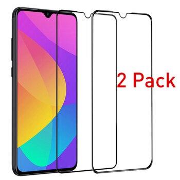 Перейти на Алиэкспресс и купить 2 шт. Защитное стекло для Xiaomi Mi 9 Lite 3D Защита экрана для Xiomi Xaomi my 9 Light mi9 SE 9 Lite Защитная пленка для переднего телефона
