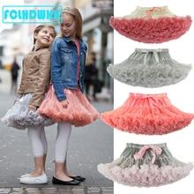 Girls Kids Tutu Skirt Kids Clothes Tutu Skirt Princess Fashion Tulle Dancewear Fluffy Ballet Party Stars Sequin Fashion Skirt