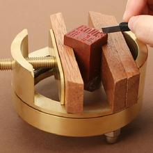 1pc  Brass Seal Bed Carved Bed CARVING FIX MOLD TOOL