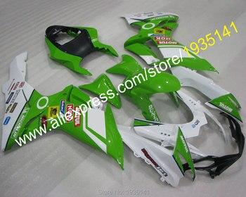 For Suzuki GSXR600 GSXR750 K11 2011-2016 GSX-R600/750 Green White Aftermarket Motorcycle Fairing (Injection molding)