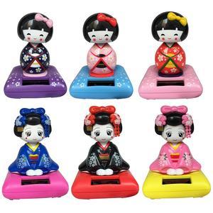 Solar Dancing kimono Girl Toy