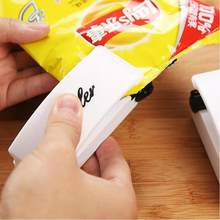Portable Mini Heat Sealing Machine Household Food Bag Package Sealer Capper(China)