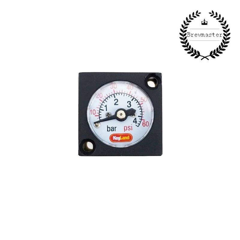 MINI GAUGE 0-60PSI (0-4BAR) - FOR INLINE DUOTIGHT REGULATOR OR BLOWTIE