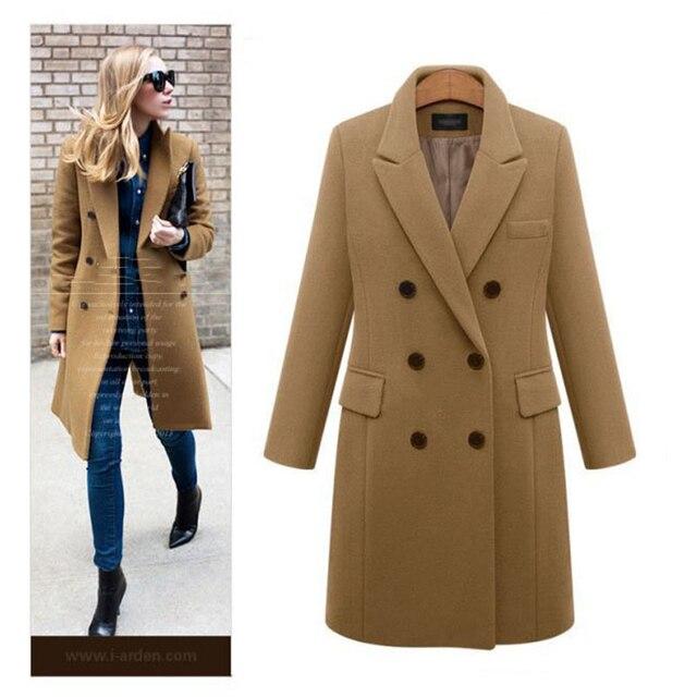 Autumn Winter Coat Women