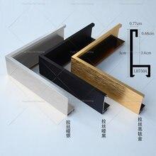 Рамка внешнего размера рамка из металлического алюминиевого