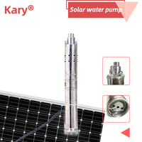 S122T 30 12v brushless stainless steel submersible solar water pump/solar borehole pump price