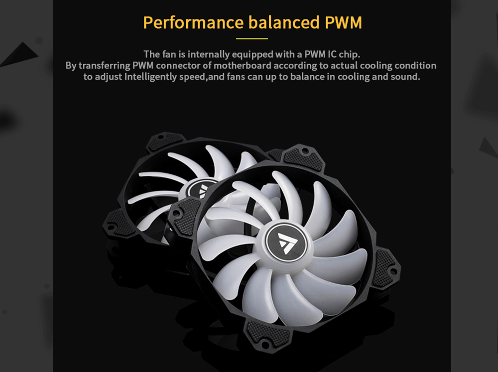 Barrow BF04-PR, PWM Fans, LRC 2.0 5V, 6pin Interface, Light/Speed Integrated Radiator Fans, Need To Work With Controller