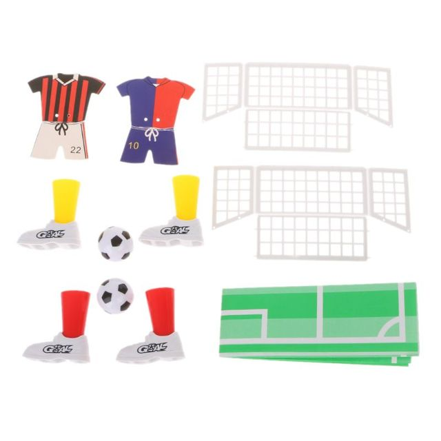 New Jersey Table Soccer Foosball Finger Soccer Match Toy Finger Game Sets Party Favors Kids Toy 1