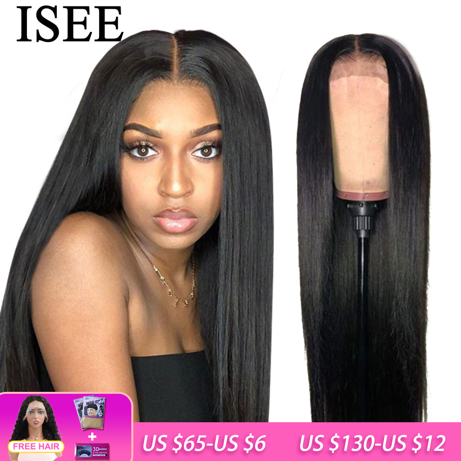 ISEE, прямые волосы, парик на фронтальном шнурке Remy 360, парик на фронтальном шнурке 150%, плотность 13X4/13X6, малазийские прямые парики на фронтальном шнурке, человеческие волосы|Парик из натуральных волос на кружеве|   | АлиЭкспресс