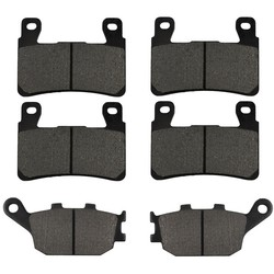 AHL Motorcycle Front and Rear Brake Pads For Honda CBR 600 F4 F4i CBR929 CBR954 FIREBLADE CBR900 RR VTR 1000 SP-1 (SP45) CB1300