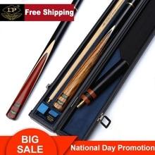LP Billar Black Warrior Snooker Cue 3/4 Split 9.5/9.8/10mm Tip Professional Ashwood Shaft 2 Colors Option Billiards