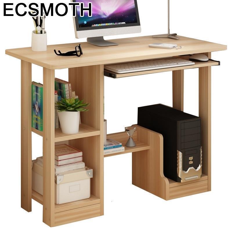 Small Bed Escrivaninha Escritorio Tisch Office Mesa Para Notebook Scrivania Ufficio Tablo Bedside Desk Study Computer Table