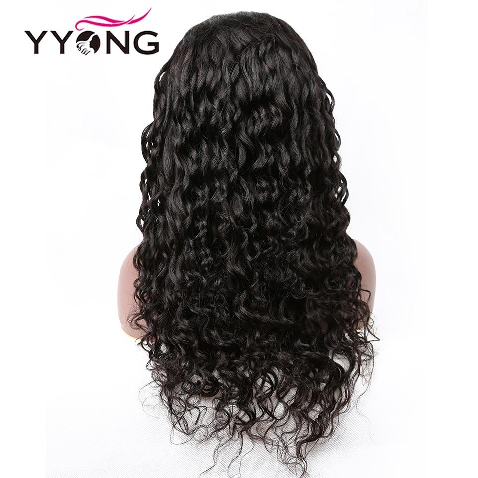 """YYong 1x6 Topline Lace Loose Deep HD Transparent Lace Part  Wigs    Wig 6"""" Deep Part Lace Wigs 5"""