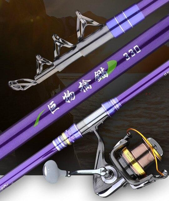Рыболовное удилище с дистанционным метательным удилищем светильник