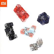 Xiaomi Mijia Mitu Spinner coloré blocs de construction doigt Fidget décompression jouet Puzzle assemblage Cube doigt Spinner jouet