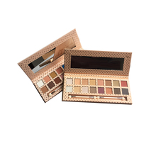 Eye Shadow 16 colors Matte Shimmer Professional shadow Palette  Natural Pressed Powder Glitter colorful Makeup shadows