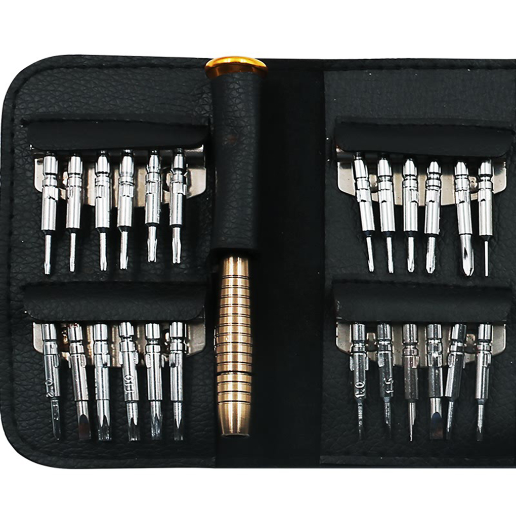 25 In 1 Screwdriver Set Mini Precision Screwdriver Tool Set Replacement For PC Glasses Mobile Phone Laptop Watch