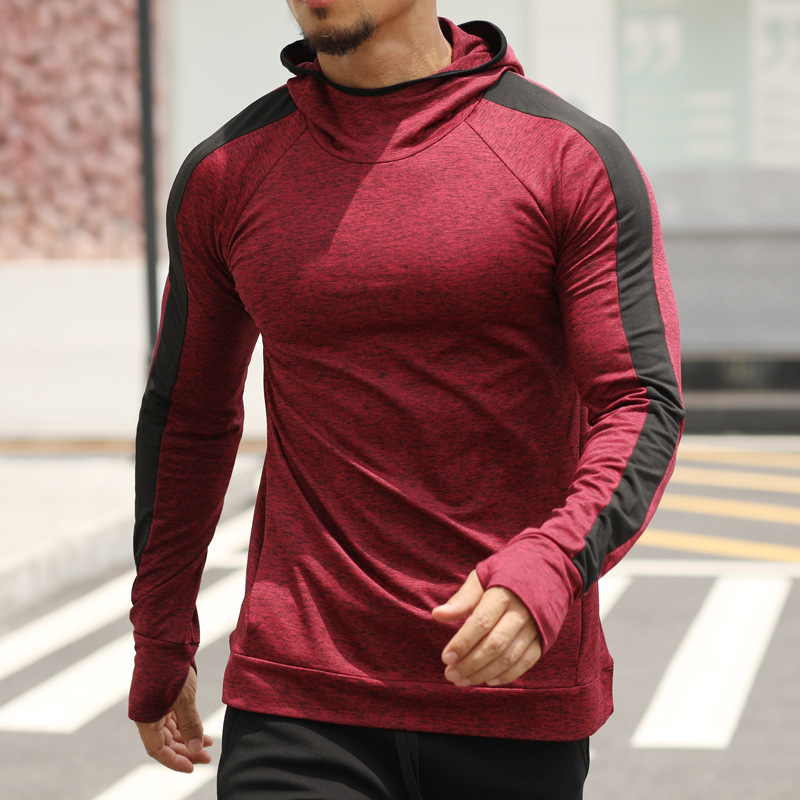 Gym Training Hoodie for Men Mens Clothing Jackets & Hoodies