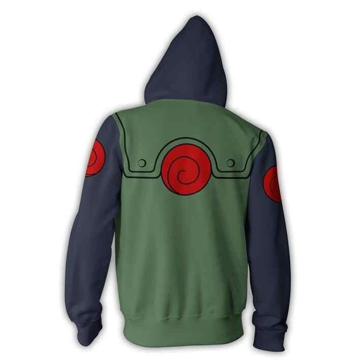 อะนิเมะ Naruto Kakashi ชุดคอสเพลย์เสื้อแจ็คเก็ต Casual Coat เสื้อผ้า Hoodie ฤดูใบไม้ร่วงแฟชั่นผู้หญิงเครื่องแต่งกายฮาโลวีนผู้ใหญ่